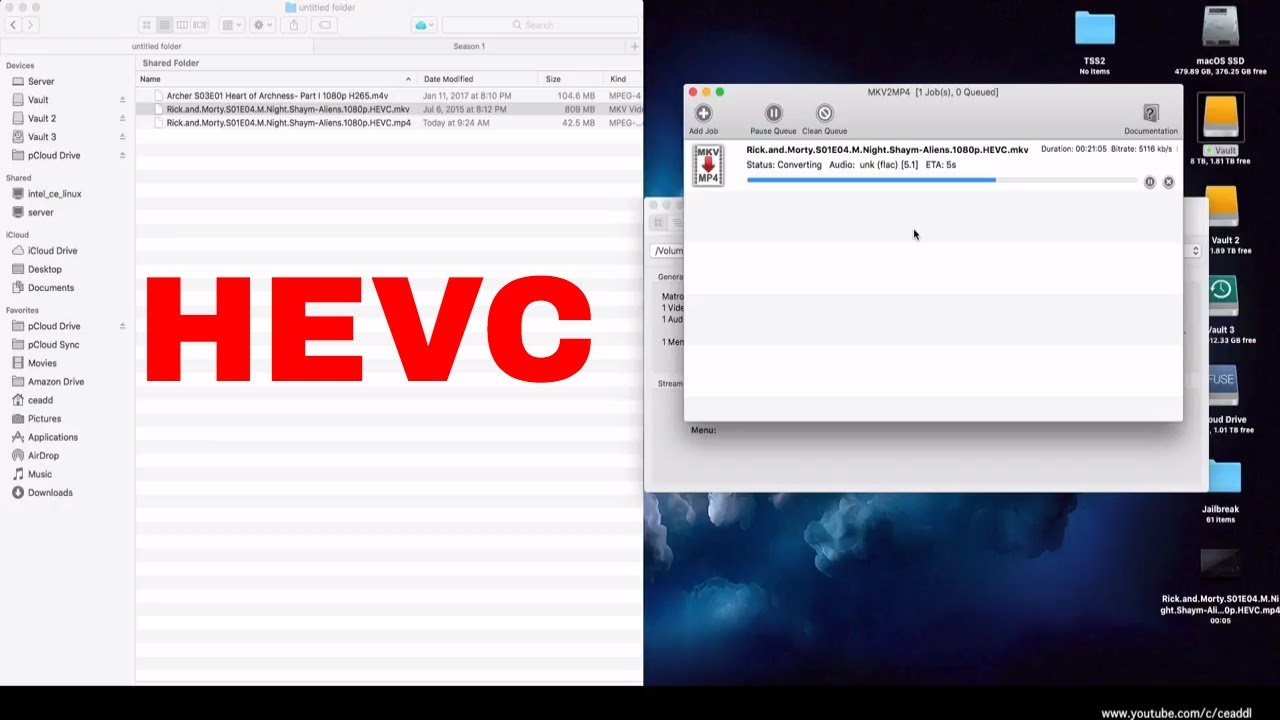 How To Convert Video To HEVC/H 265
