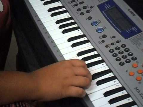 Nee Jathaga Song ... Yevadu On Piano