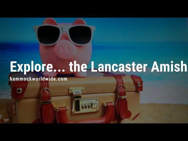 Explore... Lancaster PA Dutch Amish country 🌻 | TRAVEL PIG