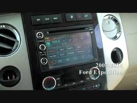 Ford Expedition Stereo Removal 2007 2014 - YouTube
