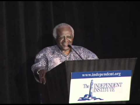 Nobel Peace Prize Laureate Desmond Tutu inspires Independent Institute Gala attendees
