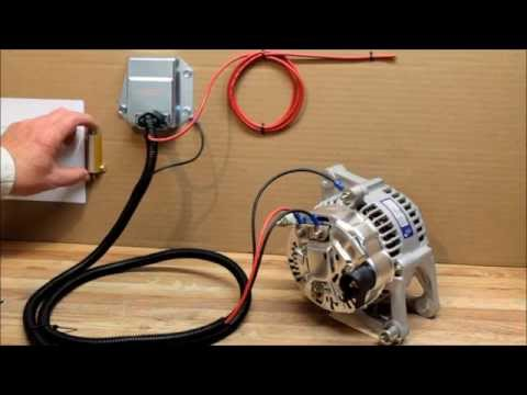 how to install external voltage regulator kit for dodge Alternator External Regulator Wiring Diagram