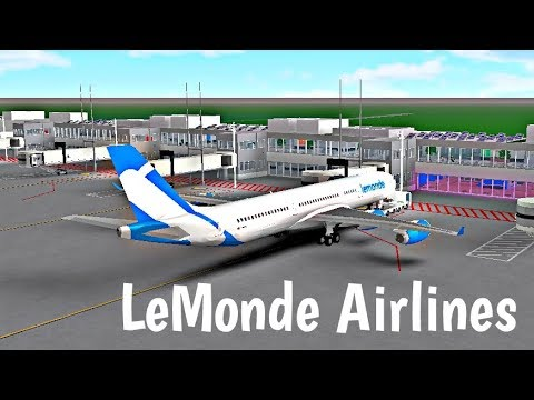 ROBLOX | LeMonde Airlines A340 Flight #2