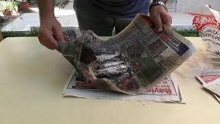 Sardalya balığı ile yem yapımı