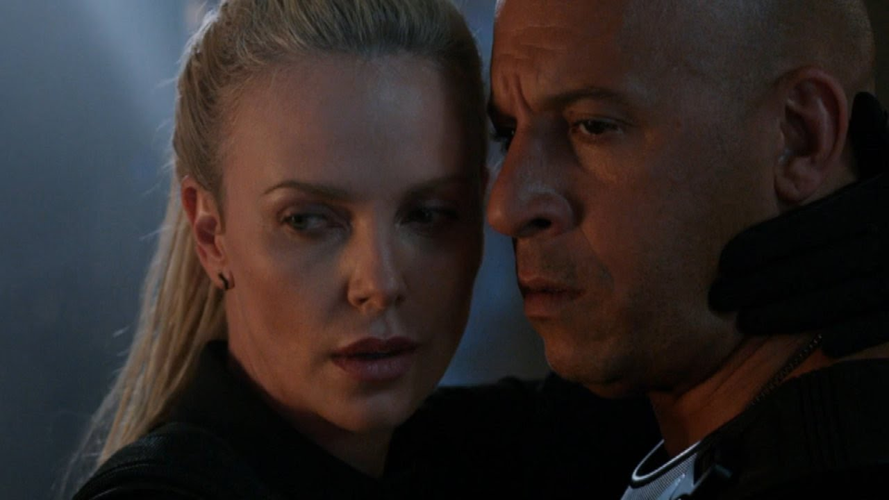 39 the fate of the furious 39 trailer charlize theron helps vin diesel go bad youtube. Black Bedroom Furniture Sets. Home Design Ideas