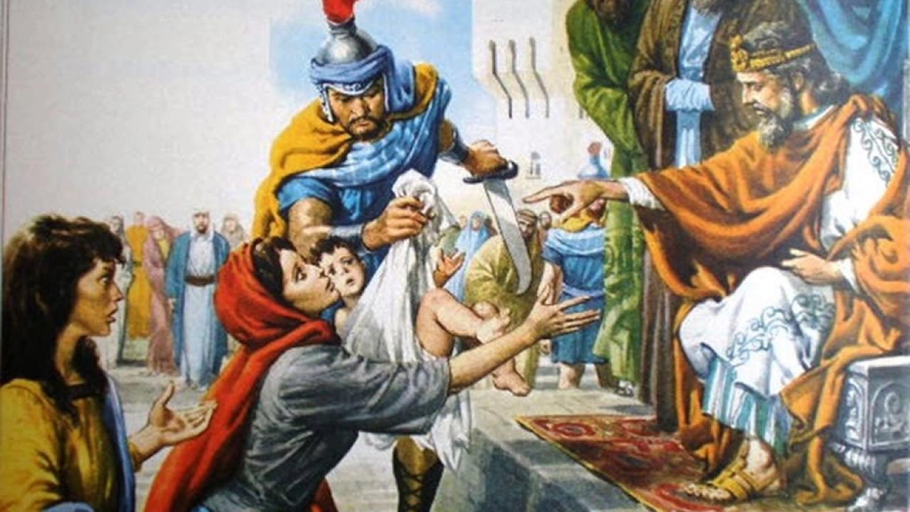 ✯O Sábio Rei Salomão e as Duas Mães✯➹VERSOS RIMADOS #16 - YouTube