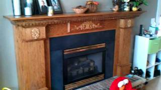 How To Build A Fireplace Mantal And Surround 5 Of 5