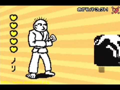 Rhythm Tengoku Perfect Play : Stage 1-1 - Karateka