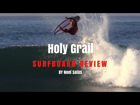 "Haydenshapes ""Holy Grail"" Surfboard Review by Noel Salas EP.41"