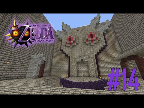 Majoras Mask Legend of Zelda Minecraft Adventure Map - Ep 14 w/Download