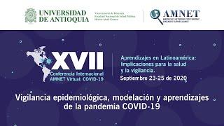Conferencia: Vigilancia epidemiológica, modelación y aprendizajes de la pandemia COVID-19
