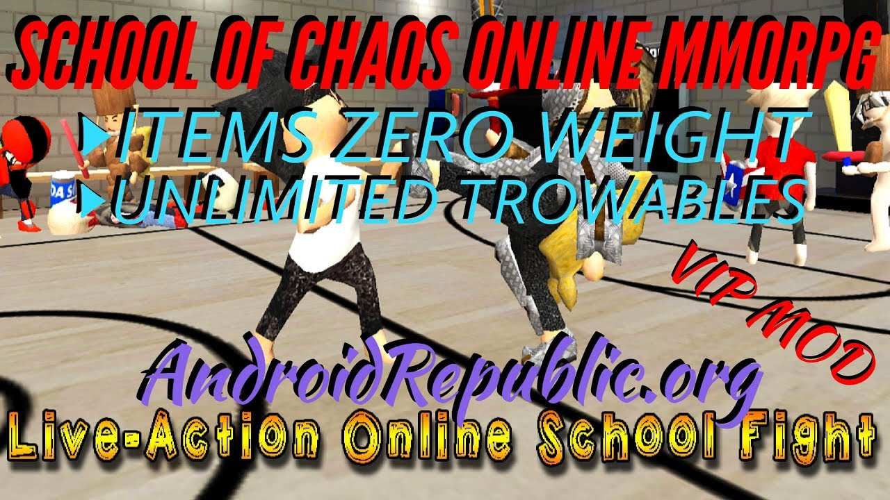 School Of Chaos Online Mmorpg Vip Mod Youtube