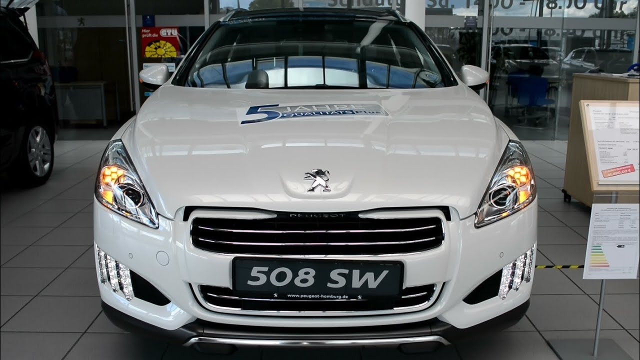 Peugeot 508 Rxh Led Light Bi Xenon Scheinwerfer