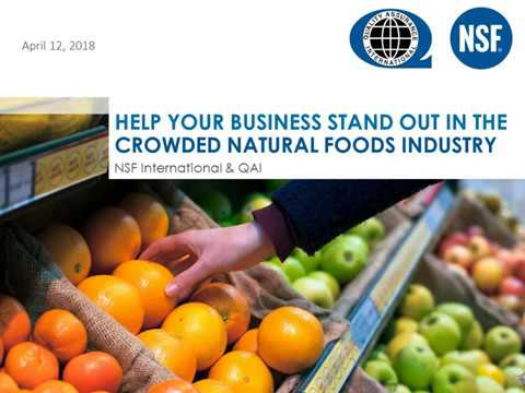 Help Your Business Stand Out In The Crowded Natural Foods Market
