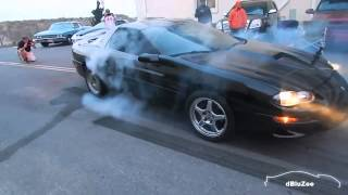 2002 Camaro SS Shows No Mercy to Tires - Burnouts