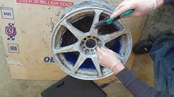 How to strip, sand, and polish aluminum wheels: Part 1