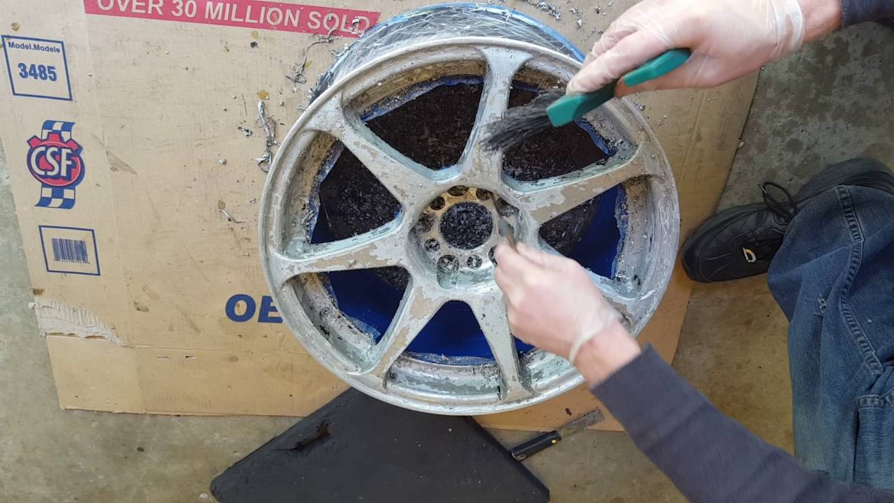 How To Polish Aluminum Wheels >> How to strip, sand, and polish aluminum wheels: Part 1
