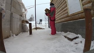 Юбилей 50 лет женщине на деревне в Норвегии