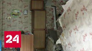 В Саратовской области обрушилась часть аварийного дома