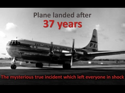 Riddle Flight 914 The Plane Disappeared In 1955, Landed After 37 Years | The Mysterious Time Lapse