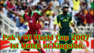Pakistan V West Indies World Cup 2007 Ist Match At At Kingston Mar 13 2007