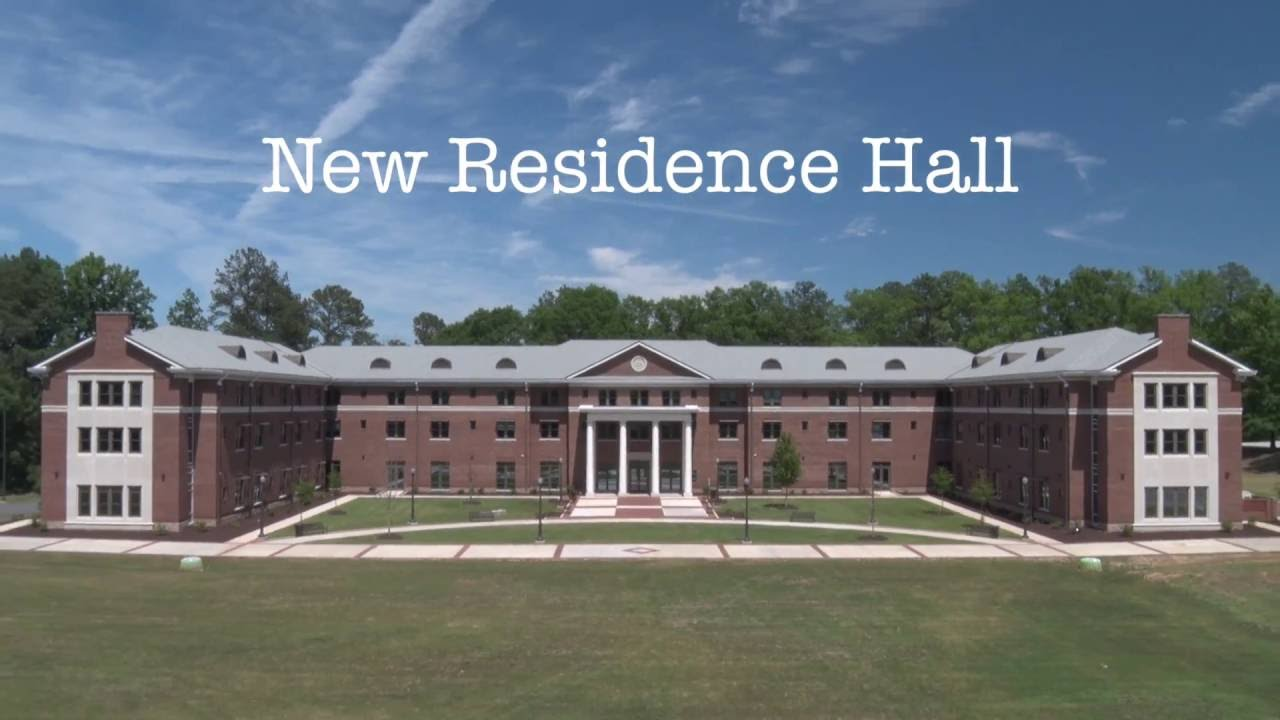 New Hall building
