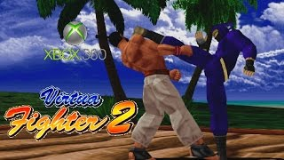 Virtua Fighter 2 playthrough (Xbox 360)