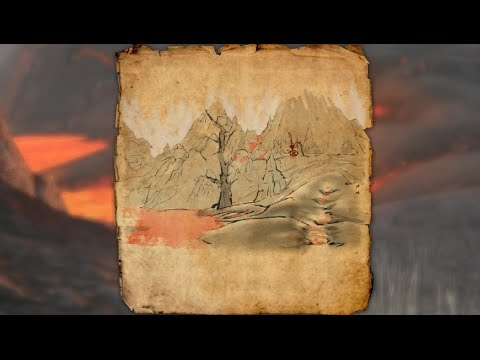 Stonefalls Treasure Map III Location Elder Scrolls Online   YouTube
