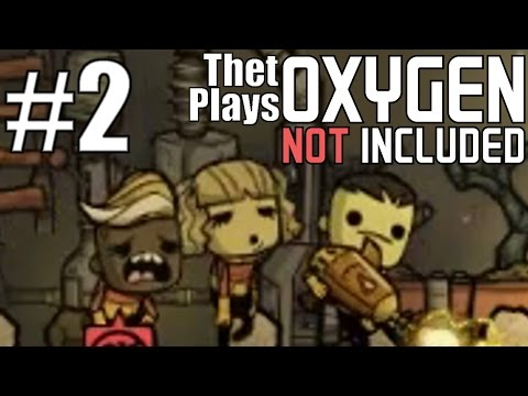 Thet Plays Oxygen Not Included Alpha Part 2: Making Air