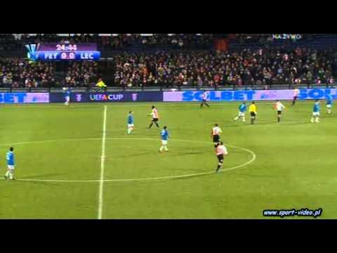 Feyenoord Rotterdam 0:1 Lech Poznań [I POŁOWA] (17.12.2008)