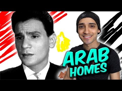 Arab Homes are like a Movie