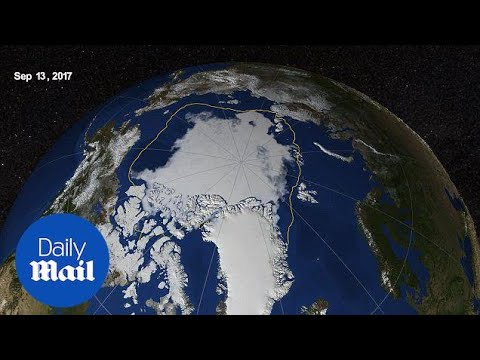 NASA reveals that Arctic sea ice is 8th lowest on record - Daily Mail
