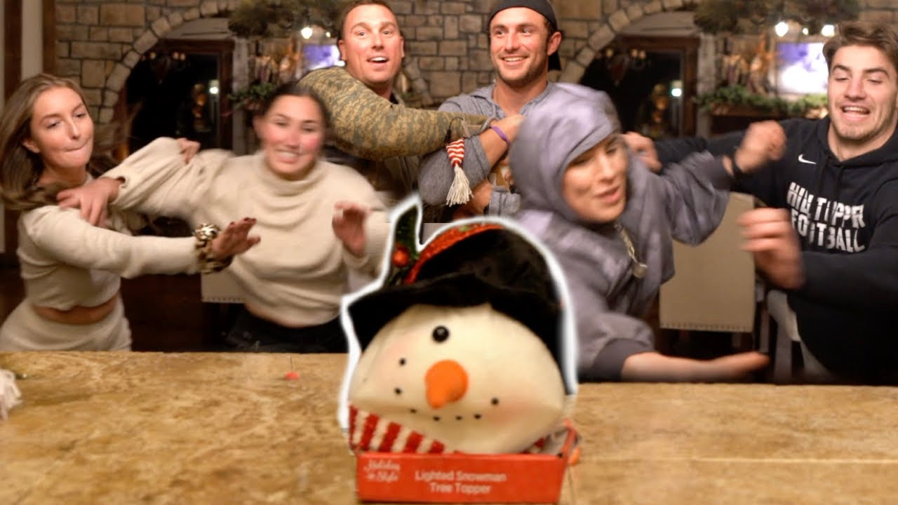 WE FOUGHT OVER A SNOWMAN *family game night*