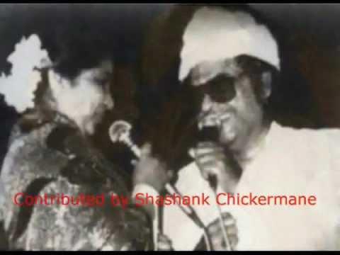 Asha Bhosle & Kishore Kumar Live (JAANE...