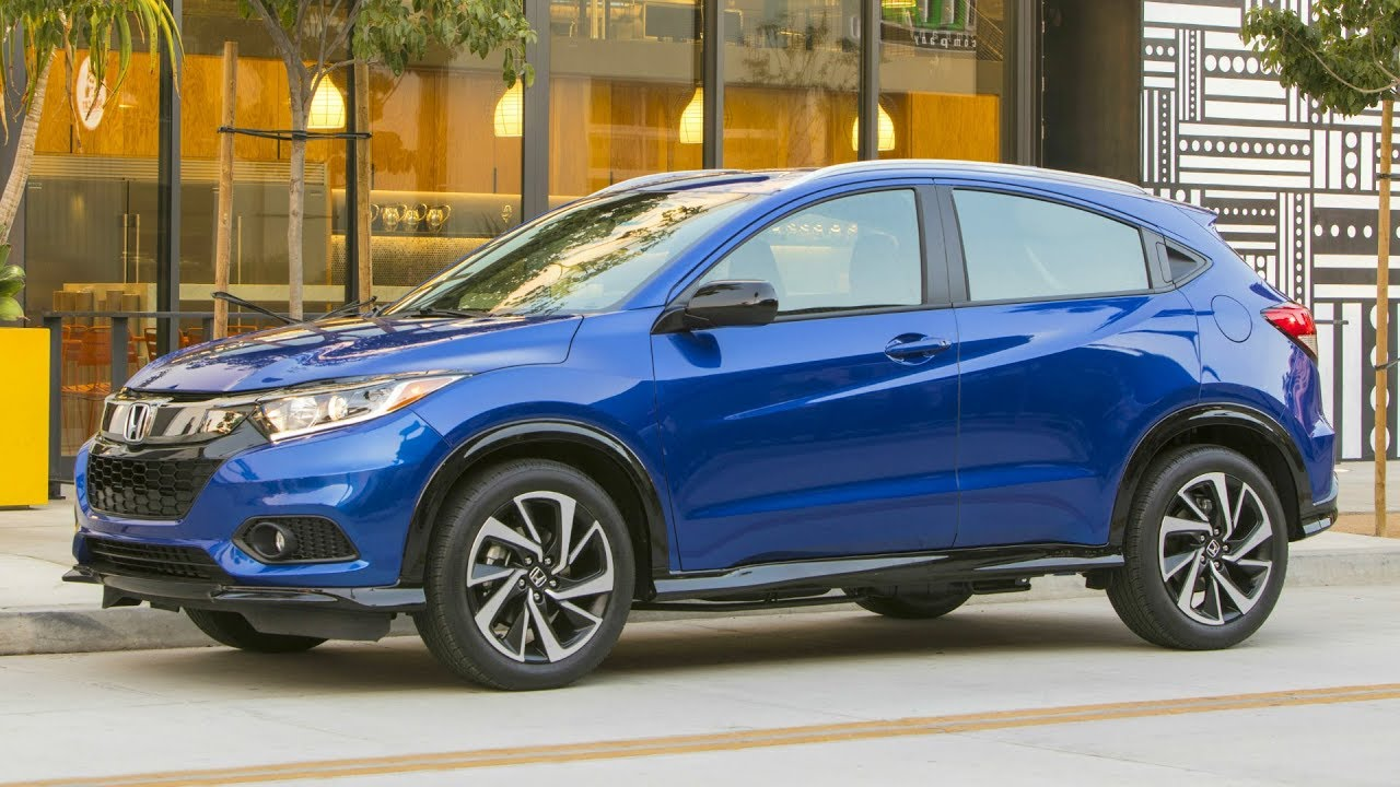 2019 honda hr-v sport - versatile and sporty 5-door subcompact suv