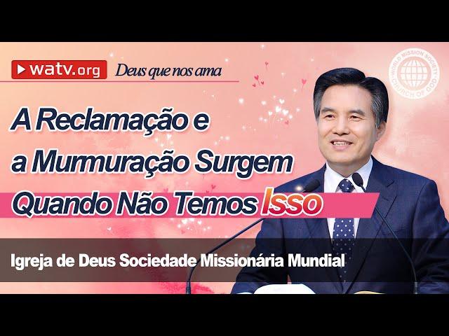 Deus que nos ama   Igreja de Deus, IDDSMM, Ahnsahnghong, Deus Mãe