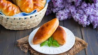 Пирожки с рисом и яйцом — видео рецепт