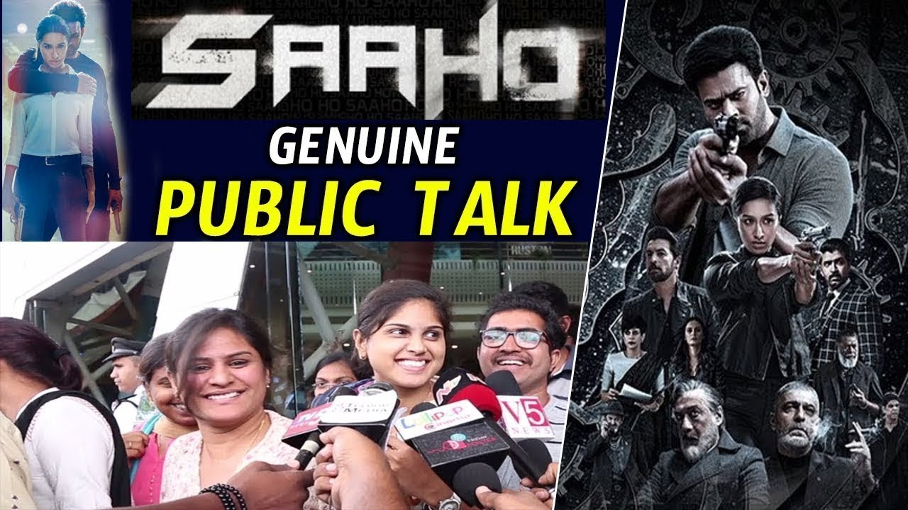 Saaho Public Talk | Prabhas | Shraddha Kapoor | Saaho Public Review | Saaho Movie Review