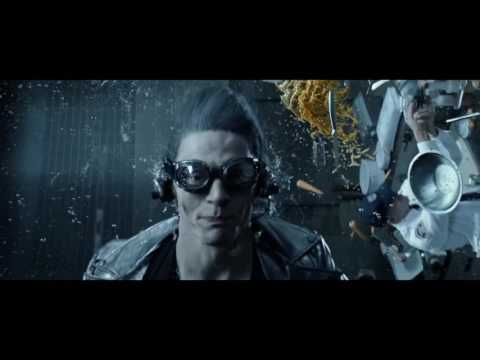 X-Men: DOFP. Quicksilver Scene with Sweet Dreams.