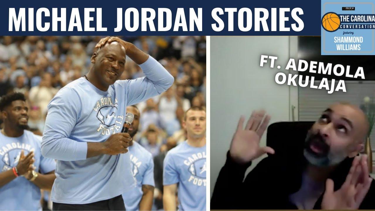 Video: Shammond Williams, Ademola Okulaja Share Michael Jordan Pickup Game Stories
