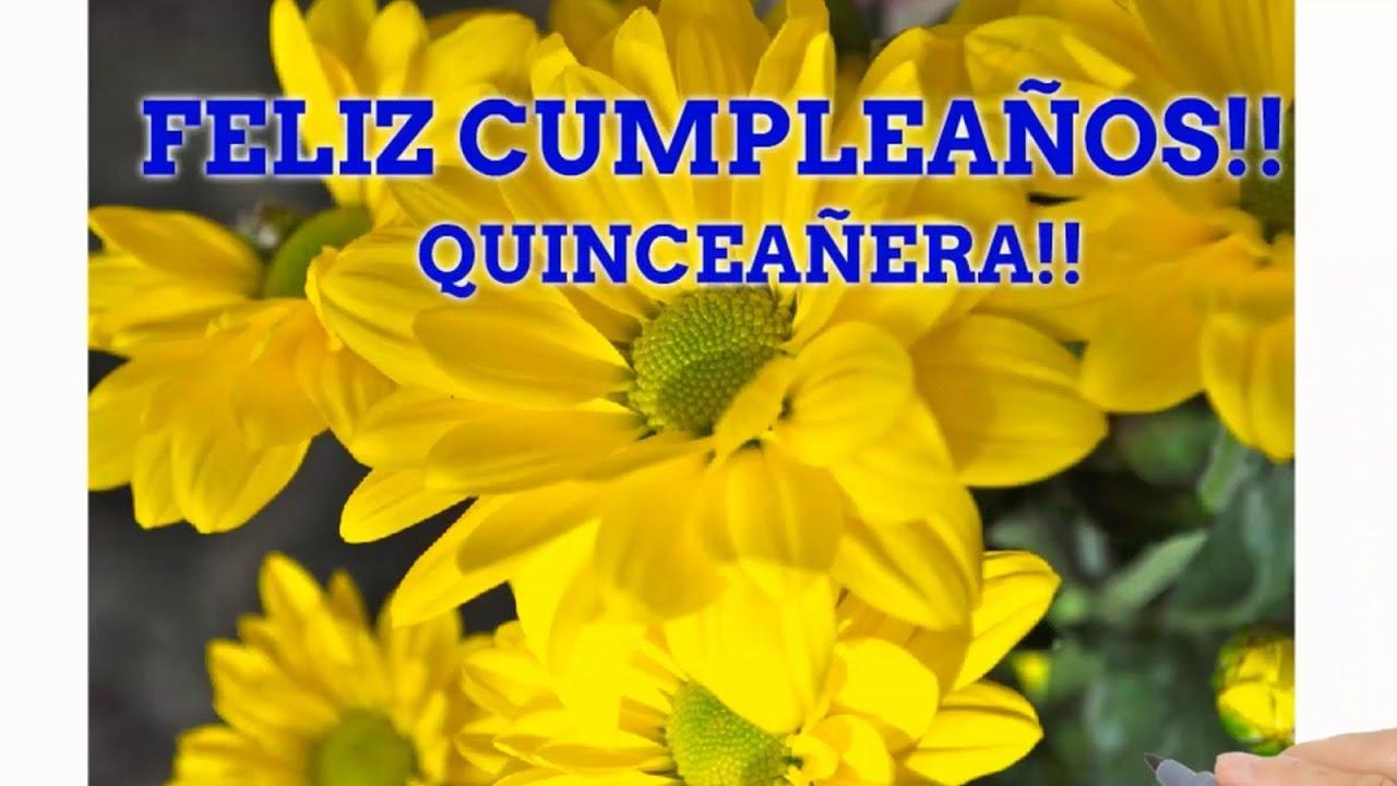 Frases Para Quincenera: Frases De Feliz Cumpleaños Quinceañera Preciosa