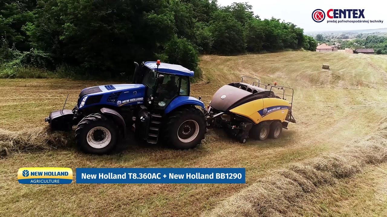 Centex - New Holland - Predaj poľnohospodárskej techniky
