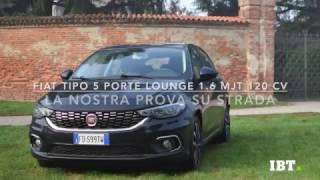 Fiat tipo 5 porte 1.6 lounge, cosa ci piace e cosa non ci piace