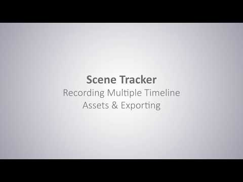 Scene Track: 05 :Recording Multiple Timeline Assets & Exporting