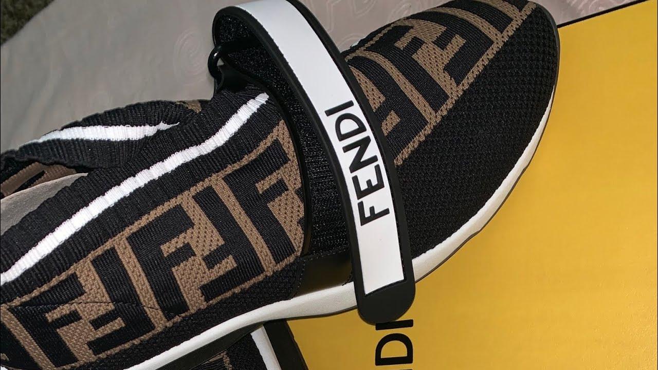Fendi sneakers / rockoko ff knit
