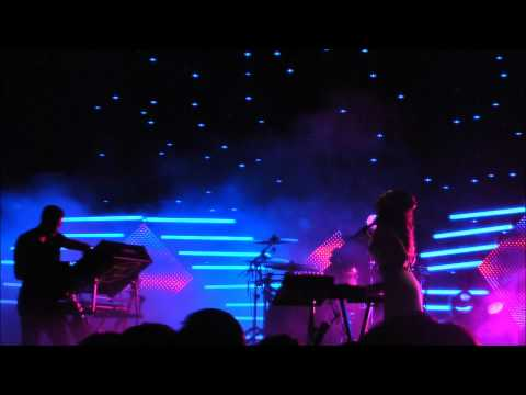 M83 Skin Of The Night HD @ Central Park New York City (SummerStage) 2012