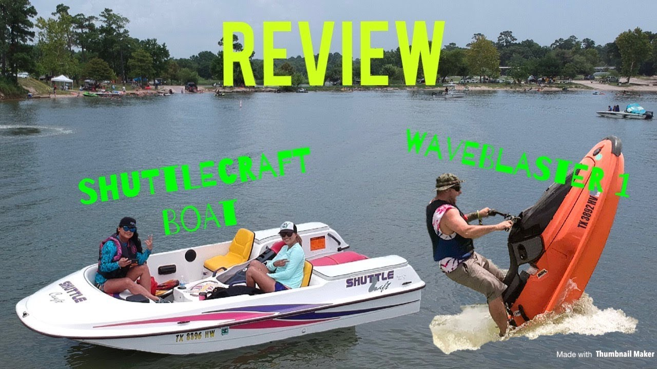ShuttleCraft Boat and Waveblaster 1 REVIEW