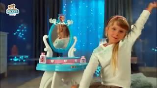 Kozmetický stolík Frozen 2v1 Smoby