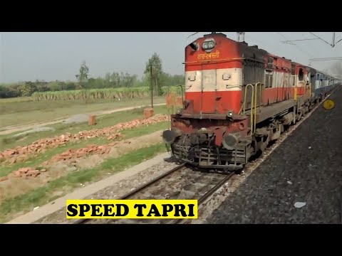 WDP4D Dehradun Shatabdi 0 To 110 Tapri Junction