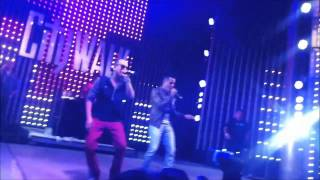 Angel y Khriz -My Corazon at City Walk Hollywood 8/18/13